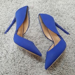 [Just Fab] Colbolt Blue Pointed Toe Heels